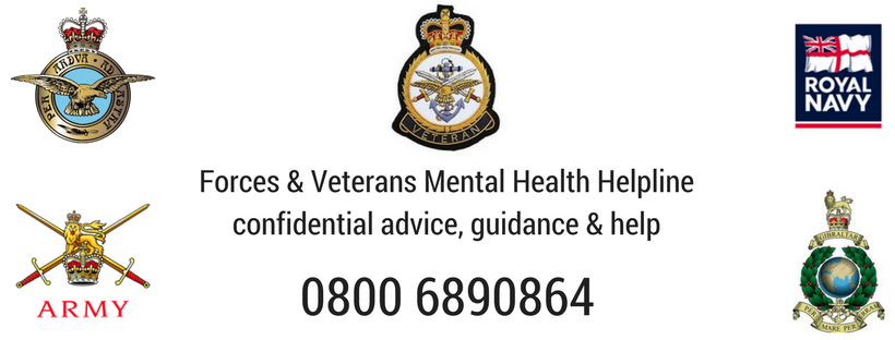Forces & Veterans Mental Health Helpline